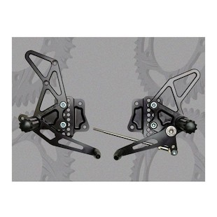 Vortex Adjustable Rearsets Suzuki GSXR 1000 2007-2008