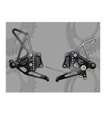 Vortex Adjustable Rearsets Suzuki GSXR1000 2007-2008