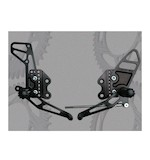 Vortex Adjustable Rearsets Suzuki GSXR 1000 2005-2006