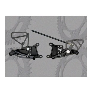 Vortex Adjustable Rearsets Yamaha R1 04-06