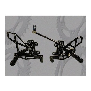 Vortex Adjustable Rearsets Honda CBR600RR 2007-2013
