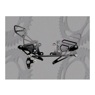 Vortex Adjustable Rearsets Honda CBR600RR 2003-2006 / CBR1000RR 2004-2007