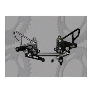 Vortex Adjustable Rearsets Ducati 848 / 1098 / 1198