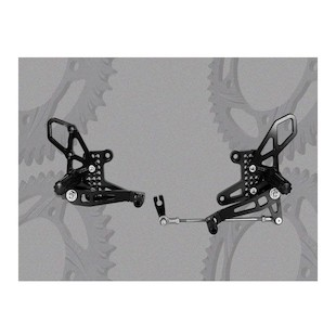 Vortex Adjustable Rearsets Honda CBR250R 2011-2012