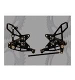 Vortex Adjustable Rearsets Kawasaki ZX10R 2011-2013