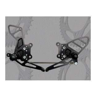 Vortex Adjustable Rearsets Suzuki SV650 2003-2010 / SV1000 2003-2007