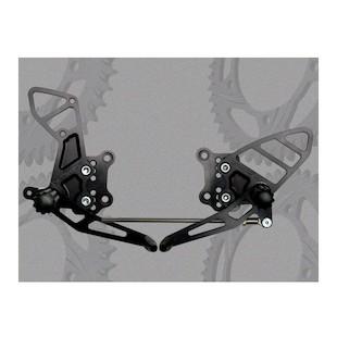 Vortex Adjustable Rearsets Suzuki SV650 / SV650S / SV1000 / SV1000S