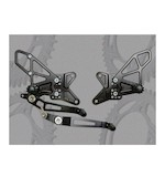 Vortex Adjustable Rearsets Yamaha R1 2009-2013