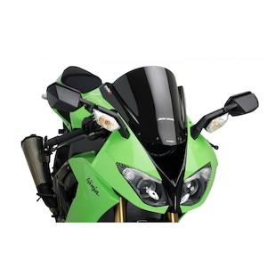 Puig Racing Windscreen Kawasaki ZX10R 2008-2010