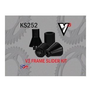Vortex V3 Frame Sliders Honda 929RR 2000-2001 / 954RR 2002-2003
