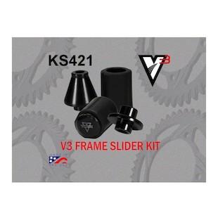 Vortex V3 Frame Sliders Kawasaki ZX6R 2007-2012