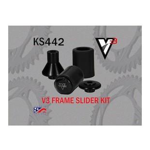 Vortex V3 Frame Sliders Kawasaki ZX10R 2011-2012