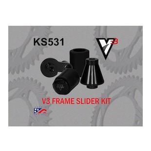 Vortex V3 No Cut Frame Sliders Suzuki GSXR600 / GSXR750 / GSXR1000