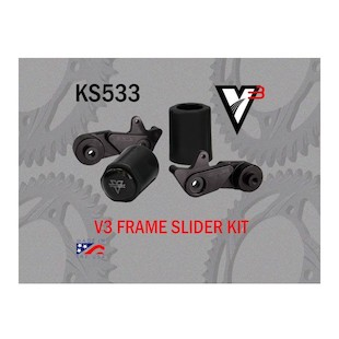 Vortex V3 No Cut Frame Sliders Suzuki GSXR1000 2009-2015