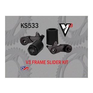 Vortex V3 No Cut Frame Sliders Suzuki GSXR1000 2009-2012