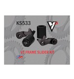 Vortex V3 No Cut Frame Sliders Suzuki GSXR1000 2009-2012