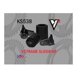 Vortex V3 No Cut Frame Sliders Suzuki GSXR600 / GSXR750 2011-2016