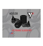 Vortex V3 No Cut Frame Sliders Suzuki GSXR600 / GSXR750 2011-2013