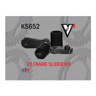 Vortex V3 No Cut Frame Sliders Yamaha R1 2009-2012