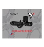 Vortex V3 No Cut Frame Sliders Kawasaki ZX6R 2009-2012