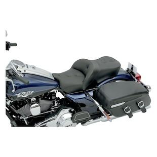 Saddlemen Heated Road Sofa Seat For Harley Touring 2008-2012