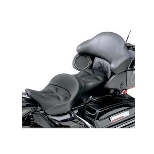 Saddlemen Explorer G-Tech Tour Pack Backrest Pad Cover For Harley Touring 2008-2013