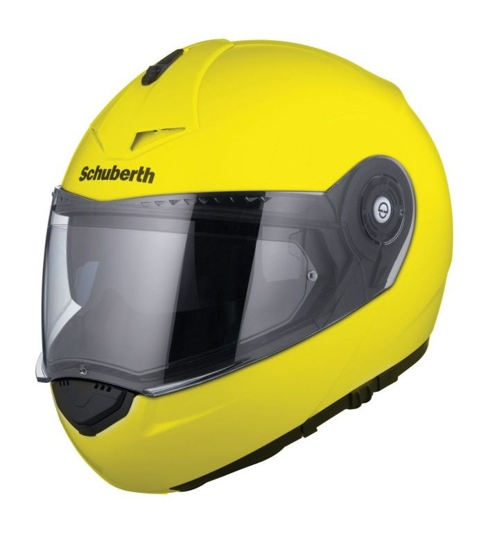 schuberth c3 pro hi viz helmet revzilla. Black Bedroom Furniture Sets. Home Design Ideas
