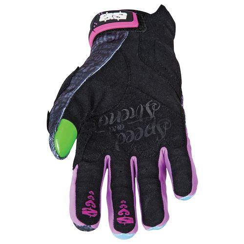 speed and strength womenu0027s wicked garden gloves size xl only blackpurple