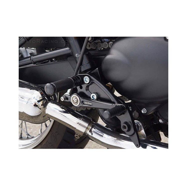 Sato Racing Rear Sets Triumph Bonneville T100 2001-2012