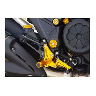 Sato Racing Rear Sets Ducati Diavel / Strada