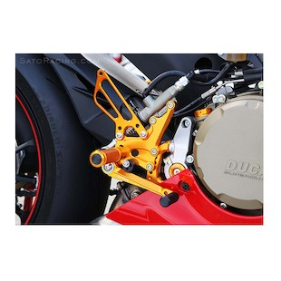 Sato Racing Rear Sets Ducati 1199 / 899 Panigale