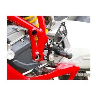 Sato Racing Replacement Left Side Rear Set Type 1 / Type 2 Ducati 1098