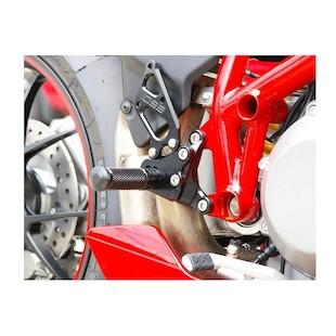Sato Racing Type 1 Rear Sets Ducati 1198