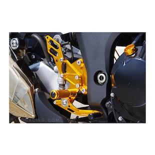 Sato Racing Rear Sets Kawasaki Z1000 (non-ABS) 2010-2011