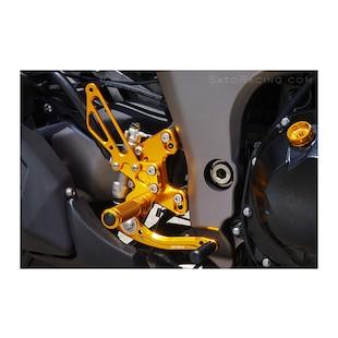 Sato Racing Rear Sets Kawasaki Ninja 1000 / Z1000 (ABS) 2011-2012