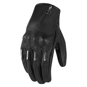 Icon 1000 Hella Kangaroo Short Women's Gloves [Size SM Only]