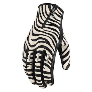 Icon 1000 Women's Catwalk Zebra Gloves