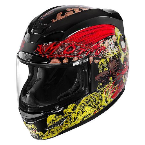 Icon Yellow Helmet Helmet Black/red/yellow