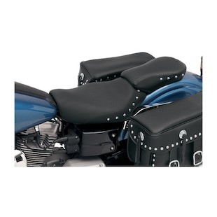 Saddlemen Renegade Deluxe Solo and Pillion Seat For Harley Dyna 04-05