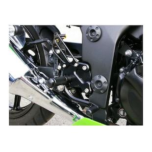 Sato Racing Rear Sets Kawasaki Ninja 250 R 2008-2012