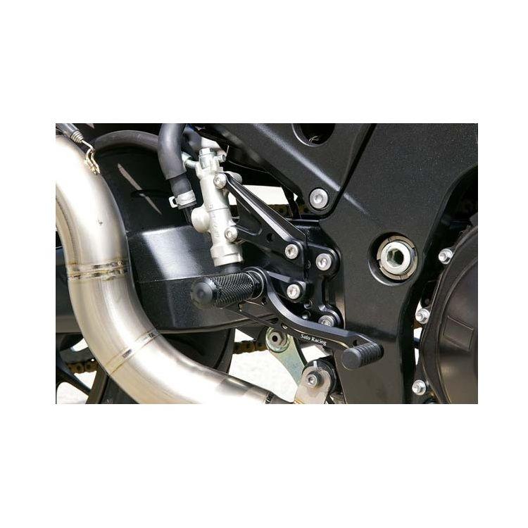 Sato Racing Rear Sets Kawasaki ZX14 2006-2011