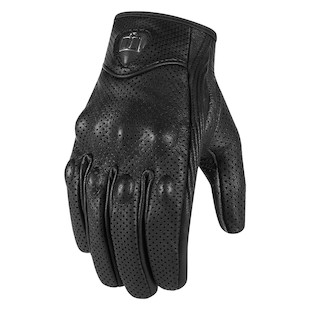 Icon Women's Pursuit Perforated Touch Screen Gloves