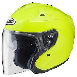 HJC FG-Jet Hi-Viz Helmet