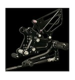Sato Racing Rear Sets Kawasaki ZX6R 2009-2012