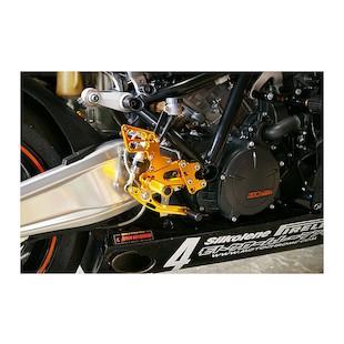 Sato Racing Rear Sets KTM RC8 / RC8R