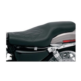 Saddlemen Profiler Tattoo Seat For Harley Sportster With 3.3 Gallon Tank 2004-2015