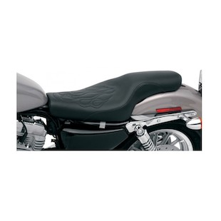 Saddlemen Profiler Tattoo Seat For Harley Sportster With 4.5 Gallon Tank 2004-2017