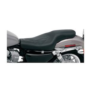 Saddlemen Profiler Tattoo Seat For Harley Sportster With 4.5 Gallon Tank 2004-2016