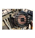 Roland Sands Nostalgia Air Cleaner For Harley Big Twin 1993-2014