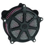 Roland Sands Venturi Series Morris Air Cleaner Faceplate For Harley